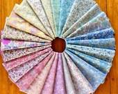 NEW! Lecien Memoire a Paris Basic 2017 25 Pcs Bundle Japanese Cotton Lawn Floral Fabric Complete Collection Choose Fat Quarter 1/2 Yd Bundle