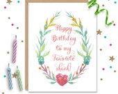 Funny Birthday card, Card for Best Friend, Best Friend Birthday, Funny Birthday Gift, Gift for Her, Gift for Him, Funny Birthday