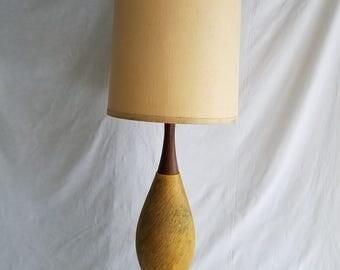 Rare Vintage Mid-Century Signed FAIP Table Lamp