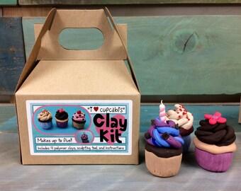I Love Cupcakes- Clay Kit