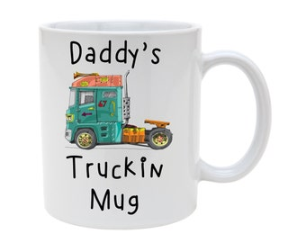 Truckin mug