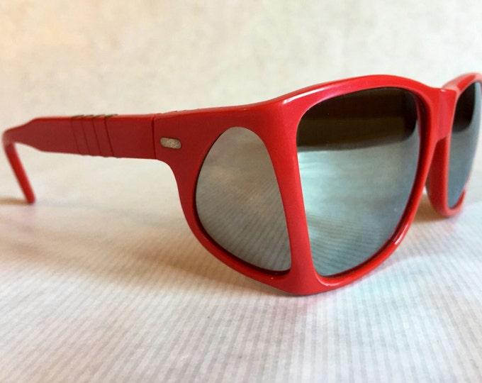 Persol Ratti 009 Sport Red Mirror Vintage Sunglasses New Unworn Deadstock