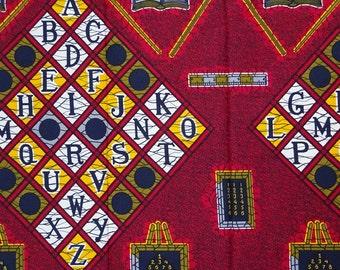 African fabric by the yard ankara fabric by the yard abc African Supplies African print fabric wax print fabric cotton dutch wax african