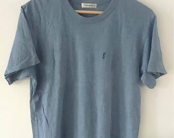Rare Vintage YSL Tshirt Size L