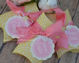 Easter Pillow Box, Set Of 3 Pillow Box, Party Favors