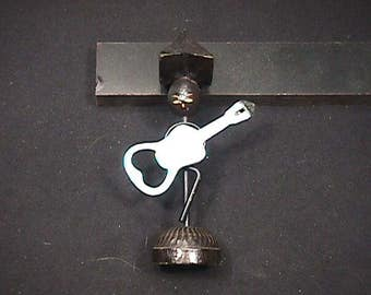 Vintage 1960's Large Hat Guitar Player Bottle Opener