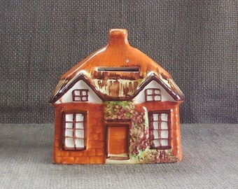Gorgeous COTTAGE WARE Vintage Money BOX By Price Kensington...Retro Kitsch Thatched Rural Country Cottage, English Countryside Chic!