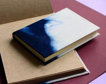 Handmade sketchbook| Minimalistic sketcbook| Sketcbook for drawing| Craft paper|Dyed cover