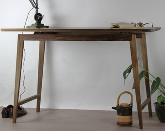 Signature Walnut Desk, Table [Bespoke sizes!] writing computer minimal office