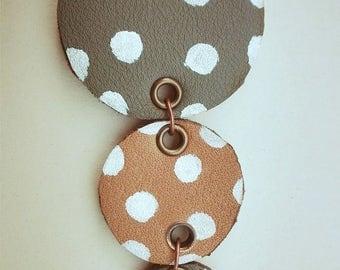Polka dot Necklace + Bracelet