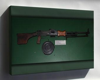 Canvas 24x36; 7,62 Mm Rpd Light Machine Gun