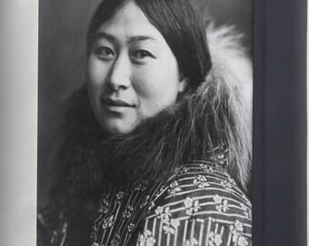 Canvas 24x36; Inuit Woman 1907