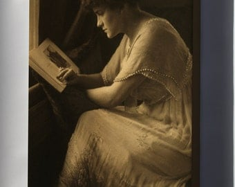 Canvas 24x36; Gertrude Kasebier Portrait Of Martine Mcculloch