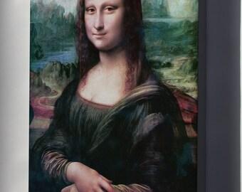 Canvas 16x24; Mona Lisa Restored