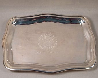 MS Cunard Princess Plated Serving Tray