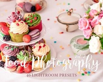 Food Lightroom Presets Volume 2 - Still life presets,  food photography, Lightroom Presets for Food, Product and Still Life Photography
