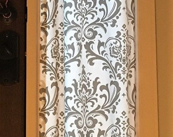 Curtains Ideas curtains for door sidelights : Door/ Sidelight curtains - WindowToppings