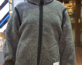 merino wool hoodie jacket man woman waistcoat body warmer