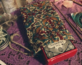 Handmade Carrying Pouch For Tarot Cards / Runes / Oracle Cards / Crystals / Sacred Herbs