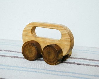 Wood Car/ Wooden Car/ Wood Toy/ Wooden Toy/ Waldorf Toy/ Toy Car/  Push Toy