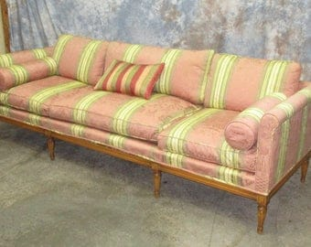 Drawing Room Davenport Couch Sofa Vintage 60s 70s Danish Modern Furniture c