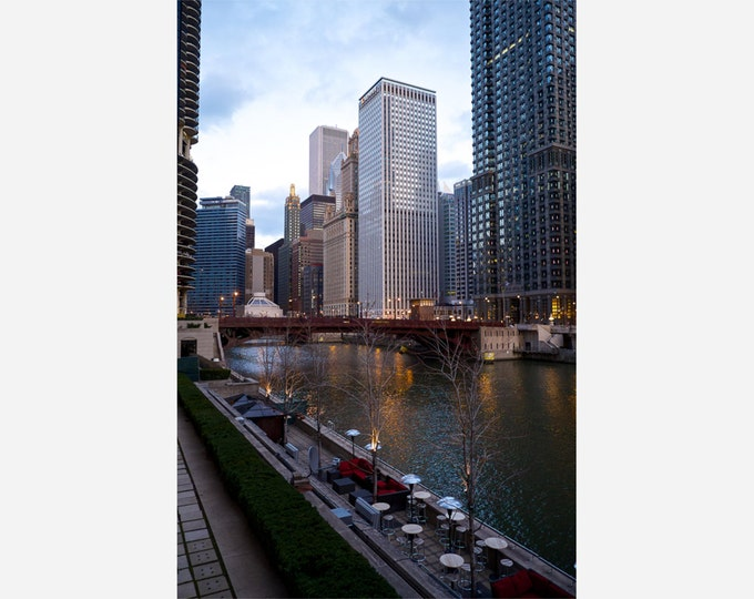 CHICAGO 3 | modern fine art photography blank note cards custom books interior wall decor affordable pictures –Rick Graves