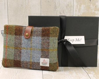 Kindle Case / Tablet Cover / McLeod Tartan / Harris Tweed / Plaid Kindle Cover