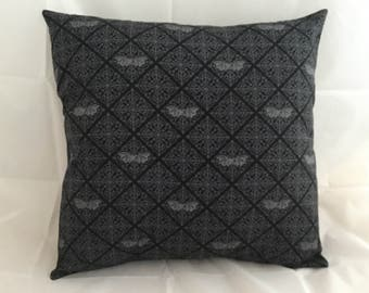 Gothic Bat cushion cover