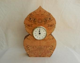 Owl Clock Etsy