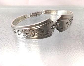 Spoon Bracelet | Rosalie | 1938| Rosalie Bracelet| Silverware Bracelet| Flatware Bracelet| Rosalie Silverware| Silverware Jewelry