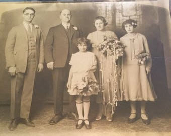 Nice 1920's Wedding Photo