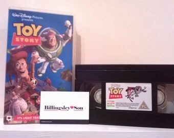 Disney's Toy Story VHS Tape VHS PAL Made For U.K Market Collectable Collectible