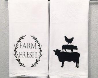 Farm Fresh towel set