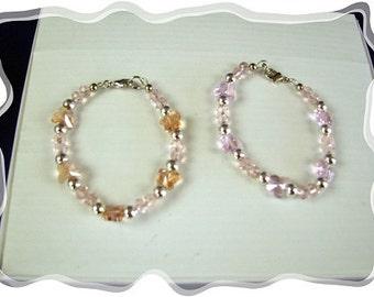 EHMB# 39  Perfect PINK BUTTERFLY Bracelet