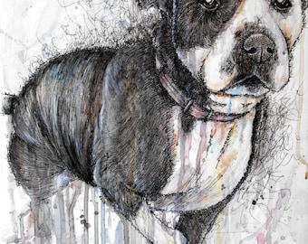 Dog Artwork Print