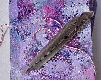 Handmade Affirmation Cards - Purple Mist