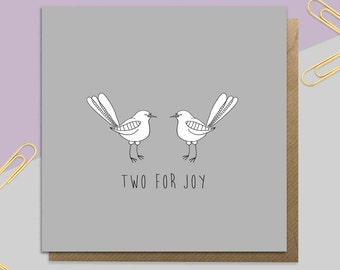 Two For Joy Card