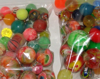 Vintage Super Balls 2 Large Bag Great Kids Room Decor Put Them In A Jar For Funky Accent  & More