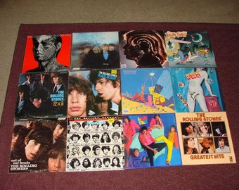 12 Rolling stone LP Records Great Old Rock n Roll