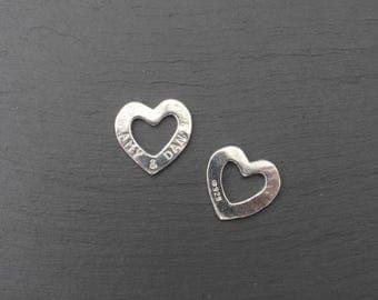 Open Heart (Sterling Silver)