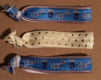 Kansas City Royals Elastic Hair Ties