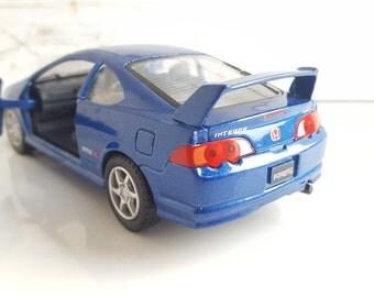 Honda INTEGRA TYPE_R , Metal Toy Car Model. Lovely Collectible Item!