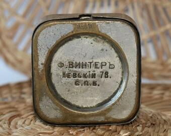 Rare!Box for Watch Ф.Винтеръ Vinter St.Petersburg 1867-1910 Vintage Original ж