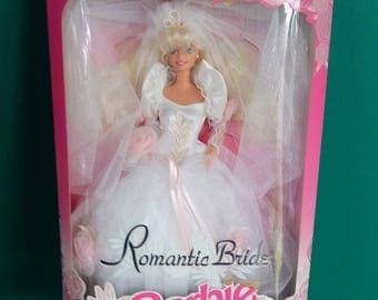 Mattel 1992 Romantic Bride Barbie Doll New in Box