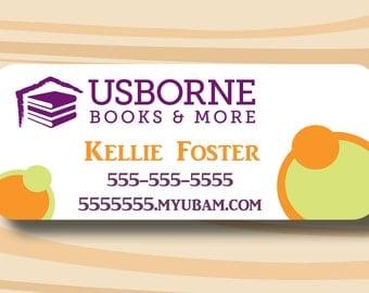 "Usborne Sticker Address Labels, Printed Stickers, 1"" x 2.625"", 30 per page"