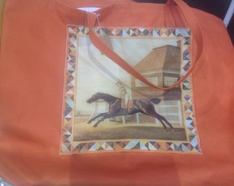 Sample Sale -  The Saratoga, Dressage Pad Speciality Bag