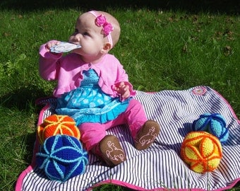 Amish Puzzle Ball - Soft Puzzle for Tots!