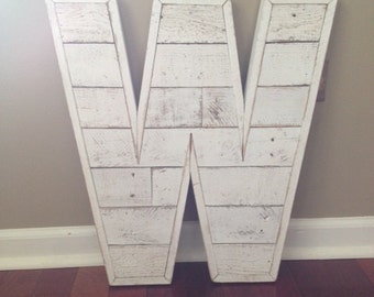 reclaimed wood letters a z and numbers 0 9 with a flush trim home living woodland nursery wedding monogram wood decor signs