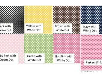 DOTS -Fabric Options for Your Applique