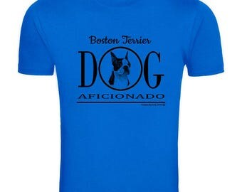Boston Terrier - Tamara Burnett Aficionado Tee Shirt 11032